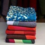Handprinted fabrics